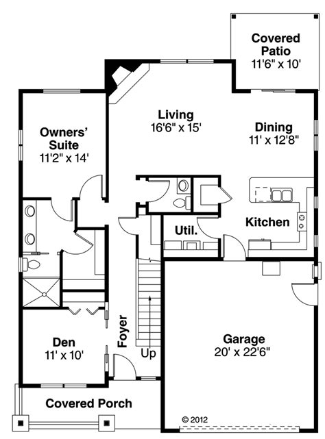 house plan 30502 at familyhomeplans delectable 50 craftsman ranch house plans design ideas of leaf craftsman ranch home plan