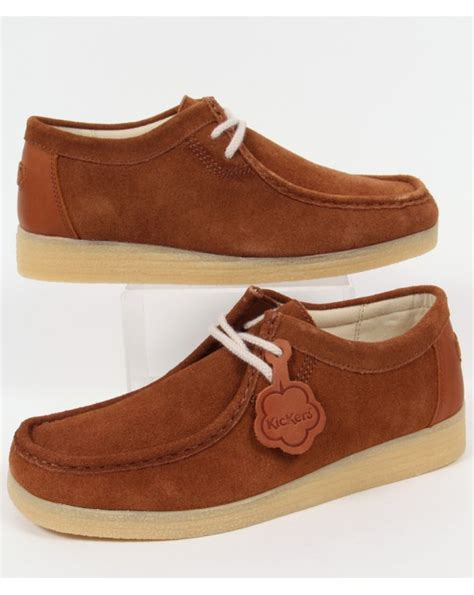 Kickers Suede kickers dinku suede wallabee shoes mens kickers wallabee shoes