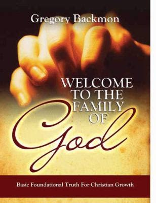 modeling family god s way books welcome to the family of god by gregory backmon reviews