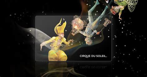 Cirque Du Soleil Gift Card - shop