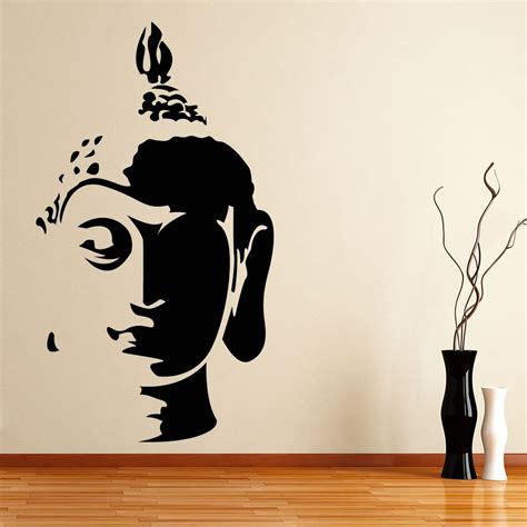 buddha wall sticker buddha wall sticker world of wall stickers