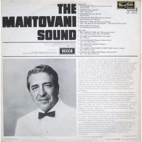 mantovani and his orchestra the mantovani sound by mantovani and his orchestra lp