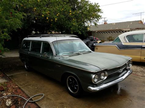 1961 chevrolet station wagon 1961 chevrolet corvair lakewood 700 station wagon
