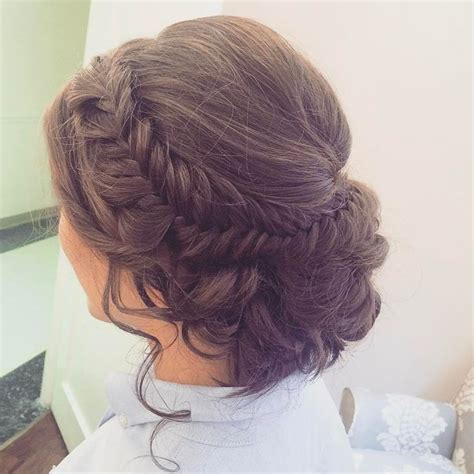 brady braided formal updo absolutely love this intricate fishtail updo perfect for