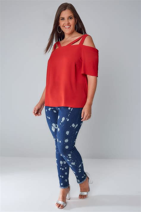 Indigo Check Gift Card Balance - limited collection indigo blue paint splatter skinny jeans with raw hem plus size 16