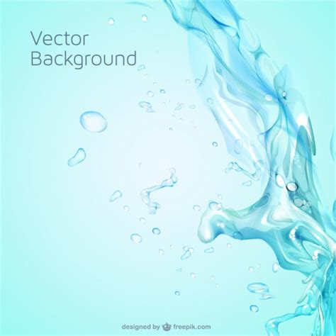 water template water splash free vector template vector free