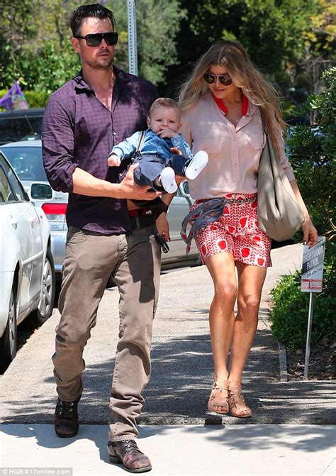 Fergie And Church Do It Right by Fergie And Josh Duhamel Stroll To Church Back On