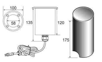 Lu Led Panel 18w 18watt 18 Watt 18 W List Kaca Glass Bulat ultraluxx 18 watt warm white led deck light water garden uk
