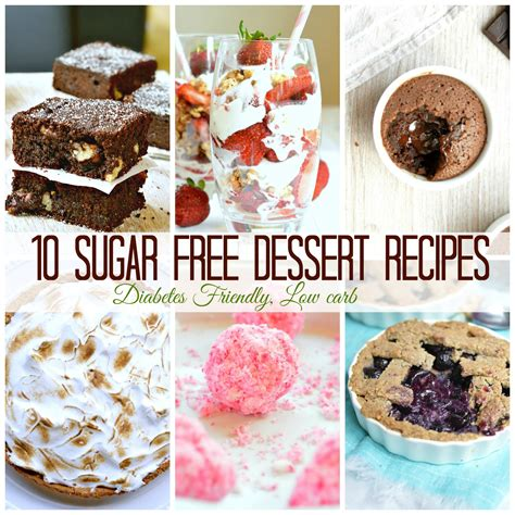 10 sugar free dessert recipes for diabetics more refined
