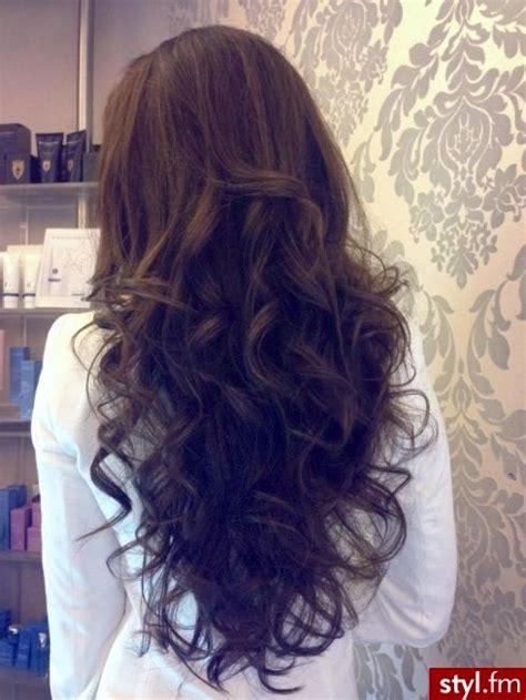 Big Soft Curls by Big Curls Chocolate Brown Hair