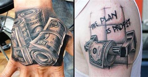 bankroll tattoo designs 10 cold money tattoos for hustlas tattoodo