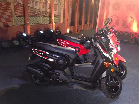 honda rugged scooter new honda scooter cliq launched at rs 42 499 in india indian cars bikes