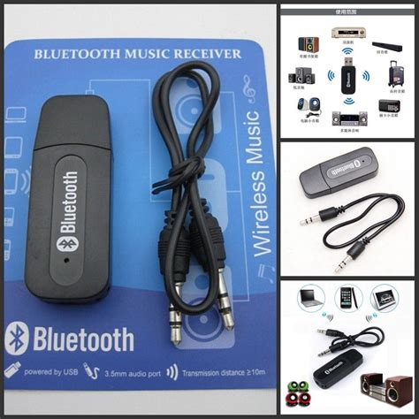 Bluetooth Musik Receiver 3 5mm usb wireless bluetooth audio stereo receiver