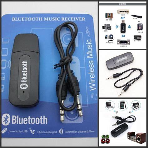 Usb Wireless Receiver Bluetooth Audio Stereo 3 5mm usb wireless bluetooth audio stereo receiver adapter dongle 1 pc ebay