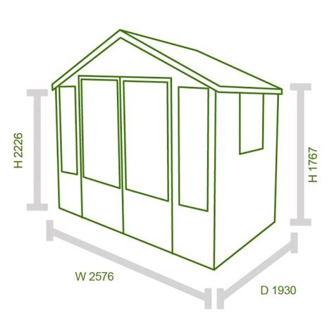 Shed Store Reviews by Forest 8x6 Woodstock Overlap Apex Summerhouse Buy Sheds Direct