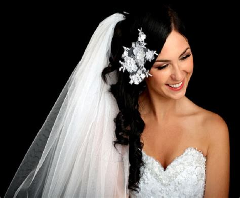 side swept wedding hairstyles with veil bridal hairstyles with veils she said
