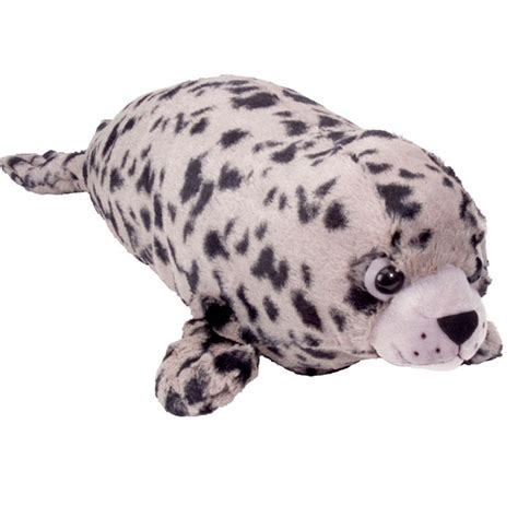 Boneka Harbor Seal Stuffed Animal Jumbo w16487 wildlife for