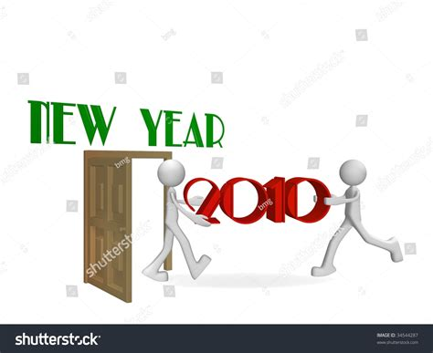 new year is just around the corner new year is just around the corner stock photo 34544287