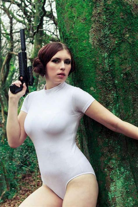 Princess leia sexy cosplay