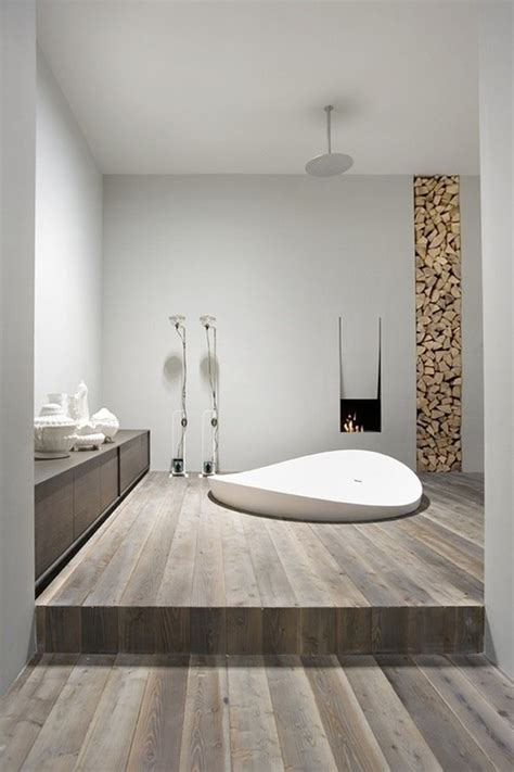 wood bathroom ideas 10 wood bathroom floor ideas home design and interior