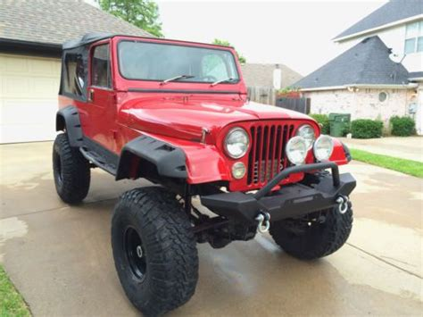 jeep scrambler lifted sell used jeep wrangler cj7 cj8 scrambler lifted monster