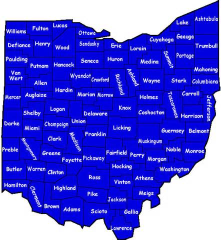 Ohio Township Map by 301 Moved Permanently