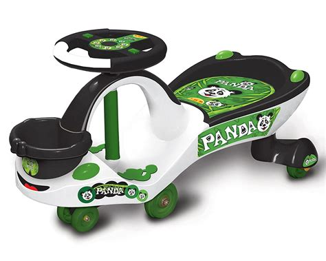 panda swing car buy toyzone eco panda magic car white online at low