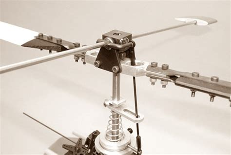 hiller objektmöbel bell mixing and rc rotor heads
