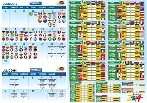 mundial 2014 mortadelo y imprim 237 tu fixture del mundial 2014 y segu 237 los partidos deportes