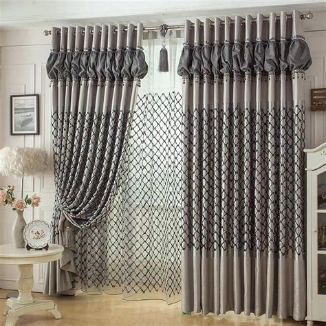 Bedroom Curtain Rods Decorating Bedroom Window Curtains Bedroom Jacquard Window Curtains Drapes Buy Colorful Bedroom Bay Window