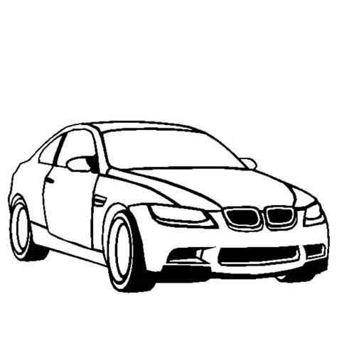coloring pages of bmw cars bmw m3 colouring pages