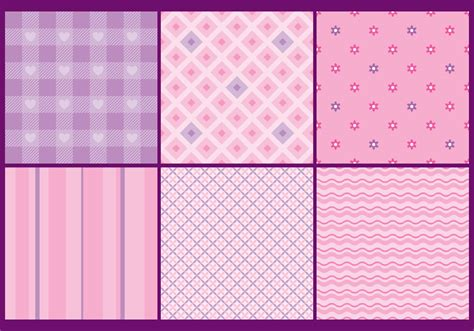 pattern vector cute cute and girly patterns download free vector art stock