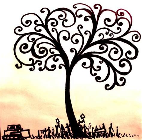 doodle meaning tree the tree of drawing clipart best