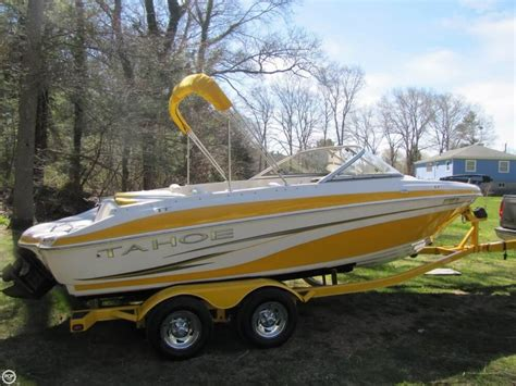 used tahoe runabout boats runabout tahoe boats for sale boats