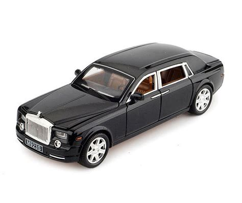 rolls royce model car rolls royce phantom 1 24 diecast model car sound light