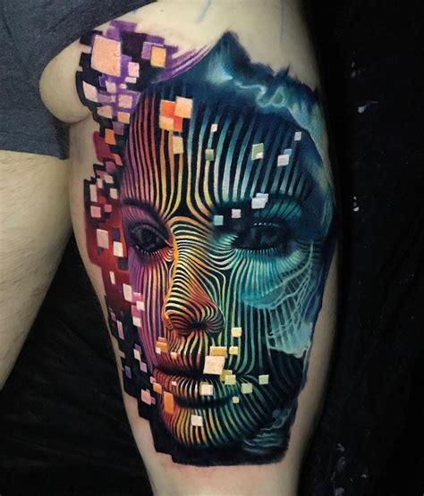 digital tattoo design digital portrait best design ideas