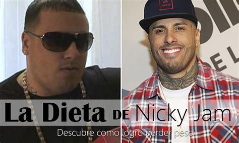 nicky jam y su esposa youtube nicky jam antes y despues descubre como logr 243 bajar de peso