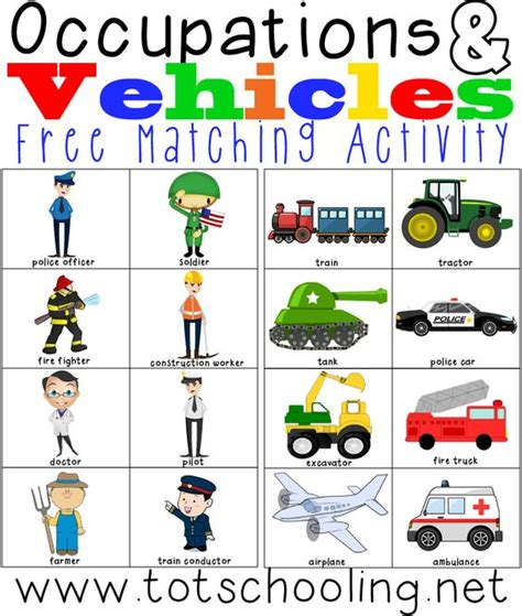 occupations vehicles matching activity martin o malley