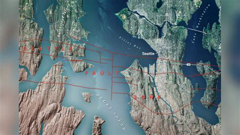 seattle fault map king5 why you need to be prepared these are the 3