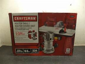 Craftsman Router And Router Table Combo by Craftsman Router And Router Table Combo 334 Square Inches
