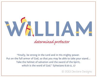 Name Meanings Lookup Items Similar To Customizable William Name Canvas With Name Meaning And Scripture