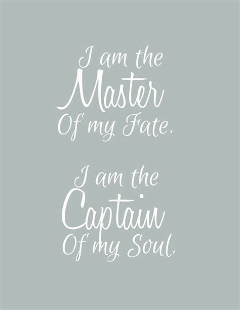 master of my fate captain of my soul tattoo invictus i am the master of my fate i am the captain of