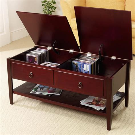 mahogany coffee table with drawers coffee table ideas designs and trends ctablesguide