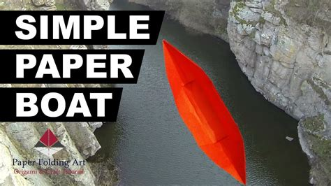 how to make a paper boat beginners how to make a simple paper boat easy paper boat for