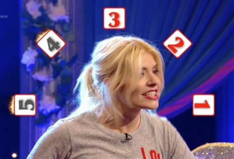 celebrity juice carrot game holly willoughby shocks fans during incredibly x rated