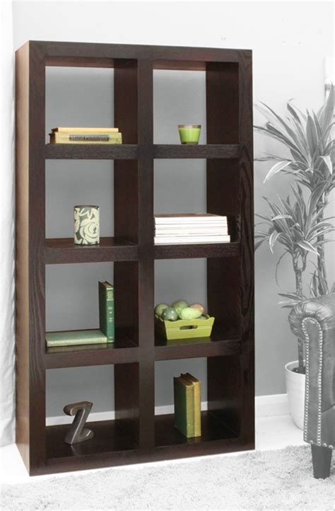2x4 wood bookshelf living room decor ideas