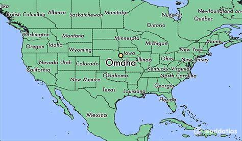 omaha nebraska usa map where is omaha ne omaha nebraska map worldatlas