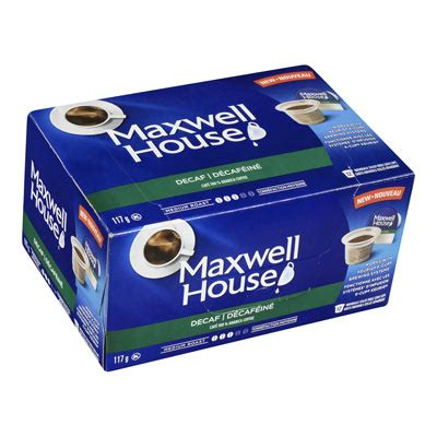 house pods maxwell house pods decaf