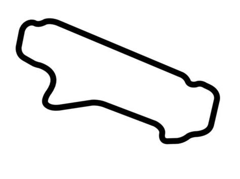 The Int 4xl Intl pocono int l raceway southeast course decal trackdecals