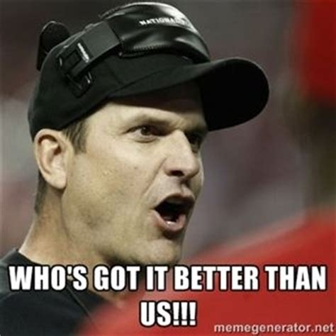 Harbaugh Meme - generators jim o rourke and memes on pinterest